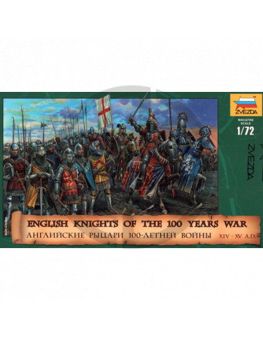 English Knights of the 100 Years War