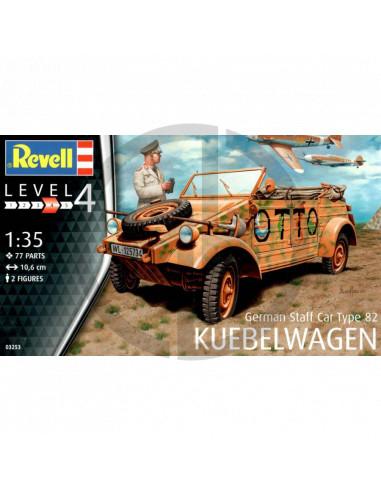1:35 german staff car type 82 Kubelwagen