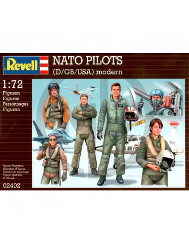 Nato pilots (D-GB-USA) modern