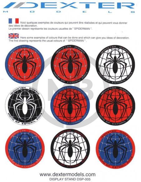 Display base Spiderman M.Melandri