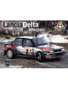Lancia Delta HF Integrale 16V team Martini  rally Montecarlo R1990 - 1993
