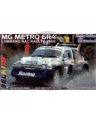 MG Metro 6R4 Group B RAC Rally 1986
