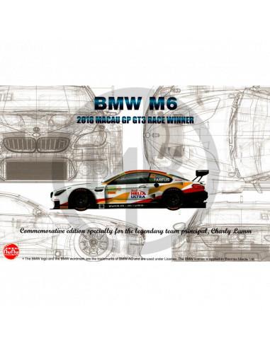 BMW M6 GT3 Macau FIA GT 2018