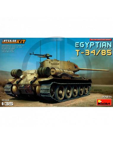 Egyptian T-34/85 Interior Kit