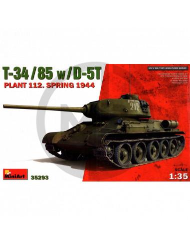 T-34/85 w/D-5T 1944