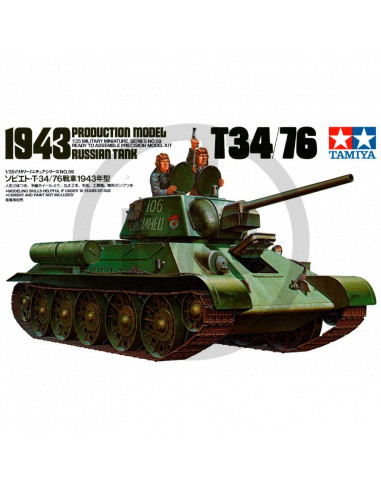 Russian tank T34/76 1943