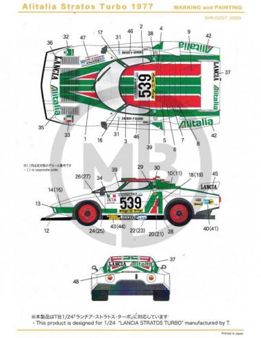 Lancia Stratos Turbo 1977 Alitalia