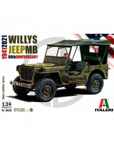 Willys Jeep MB 80th Anniversary 1941-2021