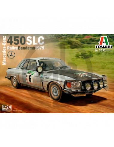 Mercedes-Benz 450SLC Rallye Bandama 1979