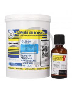 Gomma siliconica per stampi GLS-50 1kg