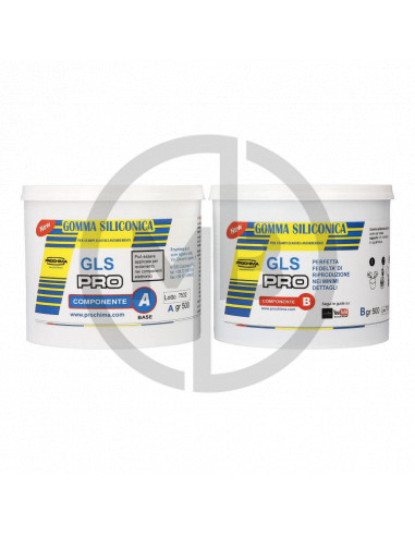 Gomma siliconica GLS PRO 1kg