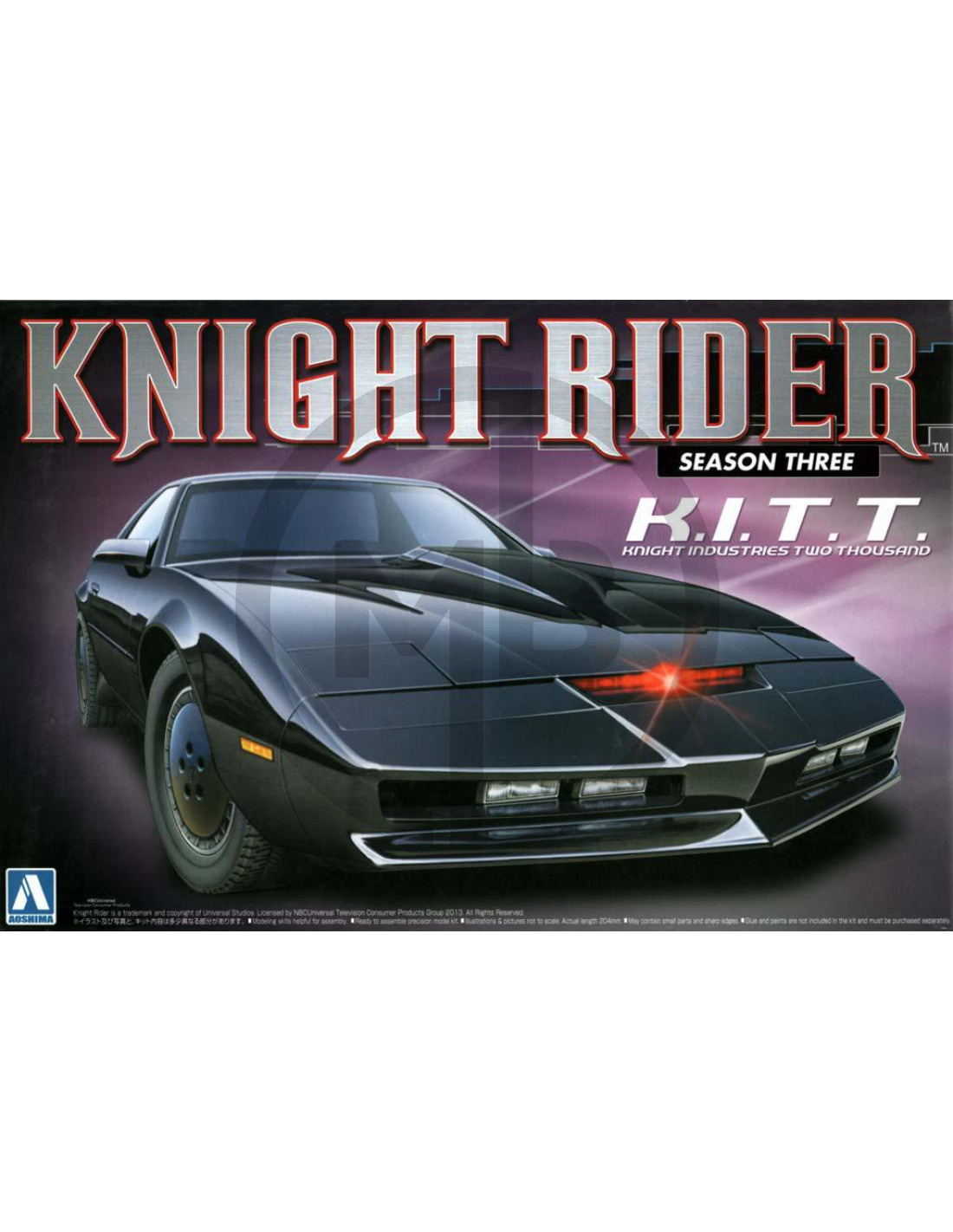 k i t t knight rider season 3. Black Bedroom Furniture Sets. Home Design Ideas