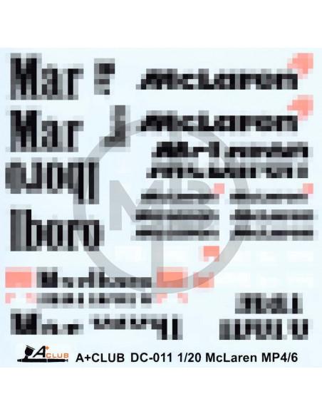 Loghi M######o McLaren MP4/6